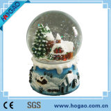 Polyresin Resin Souvenir Music LED Snow Globe (HG-003)