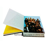 서비스 (OEM-HC027)를 인쇄하는 두꺼운 표지의 책 Casebound 책