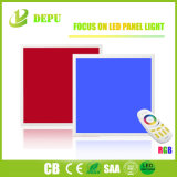 Mayorista de fábrica resistente de la luz de panel de LED RGB de 595*595