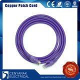 cuerda de corrección flexible de los 10m UTP CAT6