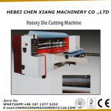Máquina cortando giratória do cartão inteiramente automático
