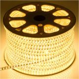 Tiras flexibles del LED del brillo 120LEDs 9.6W / M (G-SMD3528-120-12V)