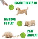 Intelligente Vinylfußball-Hundebehandlung-Kugel-Grüne Ausgabe