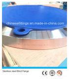 La norme ANSI B16.5 a modifié la bride borgne de l'acier inoxydable F304 Blrf
