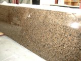 Lastre tropicali superiori del granito del Brown del fornitore dell'isola della parte superiore del banco cinese della cucina