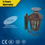 Indicatore luminoso solare esterno della parete di alto potere 3W LED delle lampade da parete