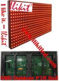 Waterdichte OpenluchtP10 Rode LEIDENE van de Kleur SMD Modules, Vertoning, het Scherm, Aanplakbord, Teken