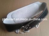 Crossfit cuir rembourré de remise en forme d'alimentation de la courroie de levage de poids (PHB-B9911)