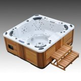 6 zetels 100 Stralen Acrylic Hot Tub SPA van PCs