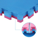 Мягкий резиновый лист пластичной пены головоломки используемый для случая циновки гимнастики