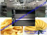 工場直売のバナナのピューレの加工ラインか生産ライン
