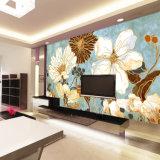 Pinturas murais originais por atacado do papel de parede da arte da foto do vintage da decoração do quarto da alta qualidade do projeto