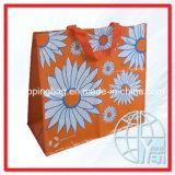 Sac d'emballage tissé par pp d'achats (ENV-PVB048)
