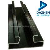 Para insertar el perfil de aluminio Slatwall Perfil de extrusión de aluminio