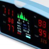 Monitor de las muestras vitales con el parámetro SpO2
