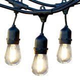 喫茶店のテラス型のエジソン屋外LEDストリングライト
