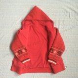 Roupa vermelha de Hoodies da menina da forma no revestimento de esporte Sq-6711 dos miúdos