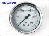 Tipo calibrador de Og-015 Wika de presión/calibrador de presión de la cuerda de rosca/manómetro de cobre amarillo del petróleo