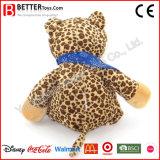 귀여운 아이를 위한 만화에 의하여 채워지는 장난감 연약한 견면 벨벳 표범