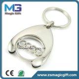 Heiße Verkaufs-Selbstmarken-Auto-Firmenzeichen-Laufkatze-Münzen-Halter Keychain