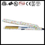 Straightener confidencial do cabelo do aníon do logotipo (V63B)
