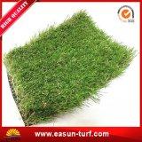 Dik Kunstmatig Gras met het Zachte Gevoel van de Aanraking en van de Zegel