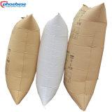 El material de papel del envase de los sacos hinchables baratos más populares del balastro de madera