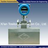 Líquido de massa Coriolis / Caudalímetro de gás para a monitoração de transferência de custódia de Óleo