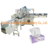 Machine à emballer de empaquetage de papier de soie de soie de tissu de serviette