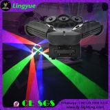RGB Verlichting van de Laser van het Stadium van de Spin DMX van Negen Hoofden voor Club