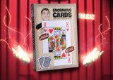 Cartões de jogo de papel gigante (203 * 279mm)