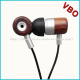 Legno di legno Earbuds del ricevitore telefonico dei trasduttori auricolari di legno alla moda