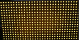 Singolo schermo di visualizzazione giallo del LED del TUFFO P10 per la pubblicità del testo