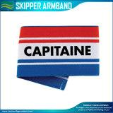 Justierbarer elastischer Armbinde-Fußball-Kapitän Armband (M-NF29F14035)