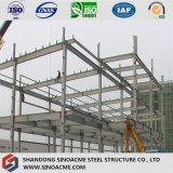 Top-Class 자격이 된 2층 전 설계된 강철 구조물 작업장