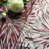 Cortina de mirada de lino teñida hilado especial típico del telar jacquar 2017