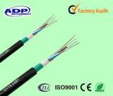 48 faisceaux desserrent le tube échouant le câble optique extérieur de fibre de GYTA