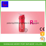 600ml Flessen Joyshaker van de Yoga van pp de Plastic Draagbare Eiwit met de Bal van het Metaal