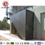 Globond Panel de aluminio perforado con precio competitivo