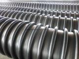 Замотка стены полости большого диаметра HDPE пускает пластичную трубу по трубам