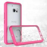 Cas acrylique de téléphone mobile de l'espace libre TPU de qualité de fournisseurs de la Chine pour HTC