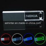 LED軽い小型USBのメモリ棒水晶USBのフラッシュ駆動機構