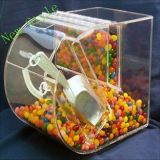 Automaat van de Doos van het Suikergoed van het Ontwerp van de douane de Acryl