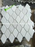 Белая мозаика Carrara мраморный, естественный материал, каменная плитка мозаики