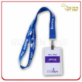 Customized Cord Printed Polyester ID Holder Badge
