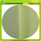De kleurrijke Stof van de Fabriek van de Polyester van de Manier 20GSM Smeltbare Interlining