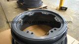 堅いダンプトラックおよび車輪のDozerおよび車輪のローダーのための道の車輪を離れた鋼鉄