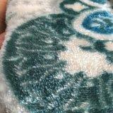 100%년 폴리에스테 산호 양털 산호 우단 담요 직물 실내 장식품 Fabricfor Hometextile