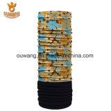 Bandana multifonctionnel de réchauffeur de collet personnalisé par vente en gros avec de l'ouatine