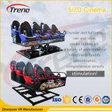 5D interactifs 7D 9d autoguident le théâtre de cabine de conduite de cinéma pour le parc d'attractions